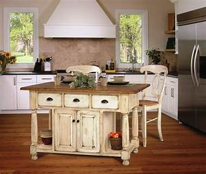 French country kitchen furniture best home decoration for Country kitchen designs with island