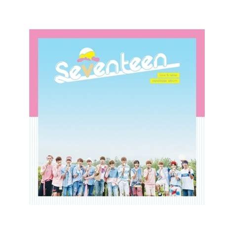 letter album cover normal seventeen 1st album repackage letter cd