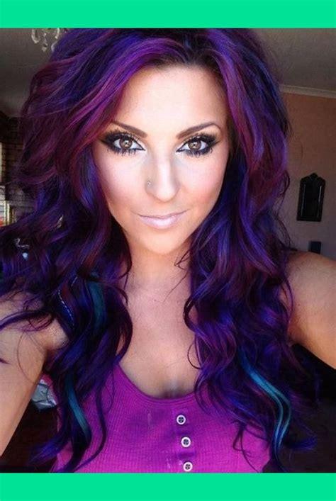 purple hair cassidy walker via