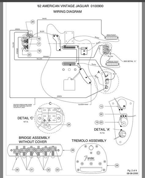 Fender Jaguar Layout Wiring Diagram Musical
