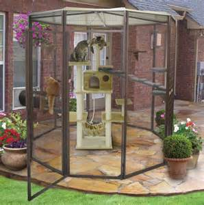 cat outdoor enclosure suncatcher garden cat enclosure petwork 174 marketplace