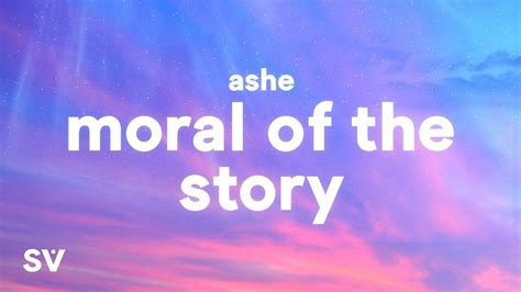ashe moral   story lyrics chords chordify