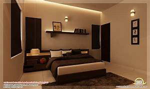 Kerala bedroom interior design (photos and video ...