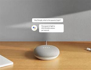 Google Home Mini Farbe : google home mini smart assistant speaker gadget flow ~ Lizthompson.info Haus und Dekorationen