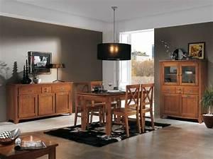33 idees pour une salle a manger en bois With meuble de salle a manger avec objet deco maison design