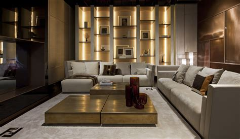 Fendi Style Living Room Furnitures  Luxury Living Home To