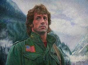 John Rambo - First Blood Painting by Bill Pruitt