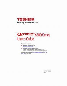Toshiba Online Manual Laptop