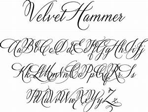 Tattoo Fonts Calligraphy Alphabet | Tattoo ideas, Ink and ...
