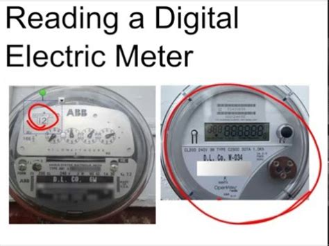 reading a digital electric meter calculate usage and cost