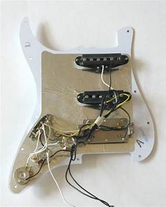 Fender Stratocaster Mexican Hss Pickguard Wiring Diagram
