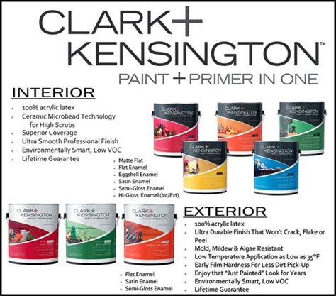 clark kensington paint is great quality for a price is made in the usa products i