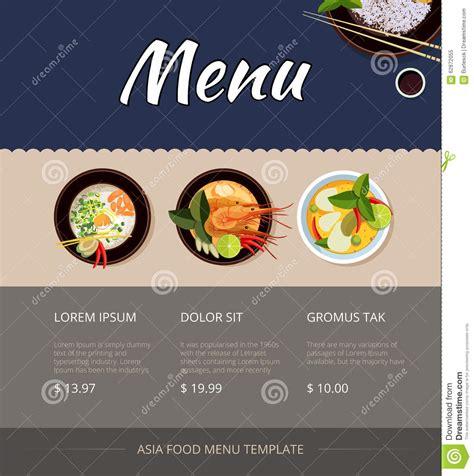 cuisine disign restaurant menu design