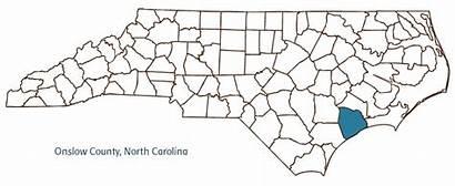 Onslow County Nc Map Ncpedia Counties Coastal
