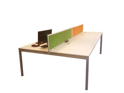 un bureau bench 4 personnes blanc adopte un bureau
