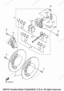Yamaha Motorcycle 2006 Oem Parts Diagram For Front Brake