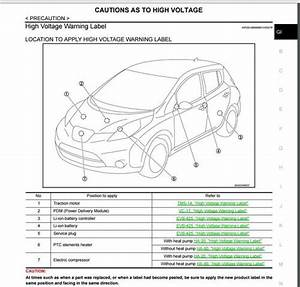 Nissan Leaf 2017 Ze0 Service Manual Wiring Diagrams
