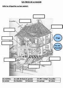 Piece De La Maison En Anglais : lexique cp mme folyot ~ Preciouscoupons.com Idées de Décoration