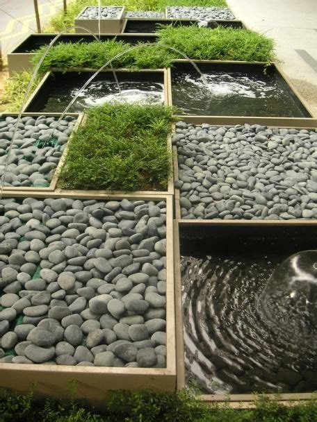 zen garden with fountains and pebbles 08 repins