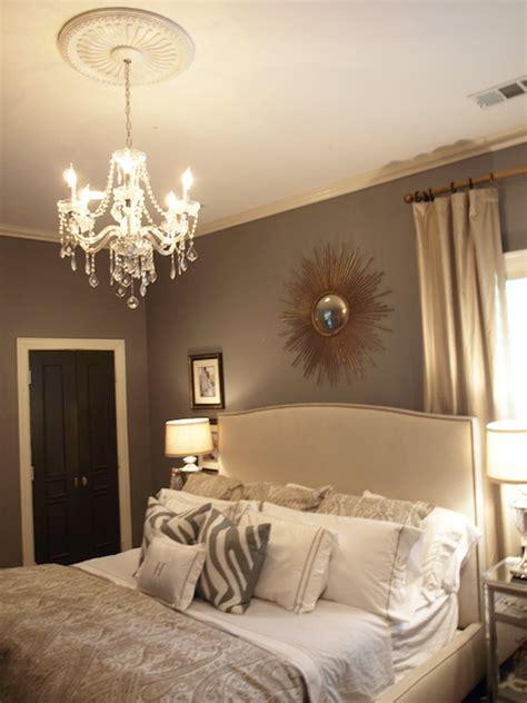 Gray Walls  Contemporary  Bedroom  Ralph Lauren