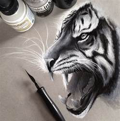 Realistic Pencil Animal Drawings