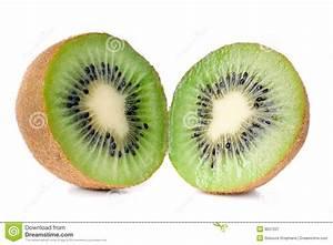 Cut Kiwi Royalty Free Stock Photography - Image: 8037207