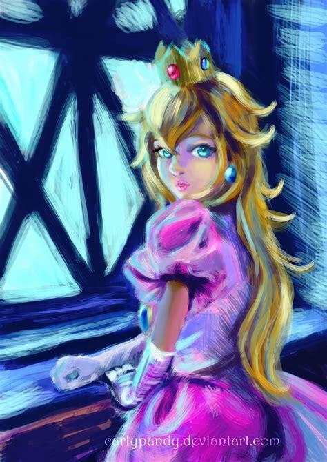 Princess Peach Portrait By Carlypandy On Deviantart