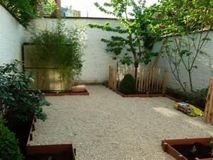 Cailloux Pour Cour : terrasse en cailloux cool jardin ultra moderne avec du ~ Premium-room.com Idées de Décoration