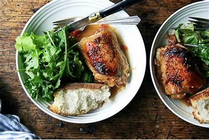 Chicken Sauce Vinegar Pan Sherry Dinner Oven