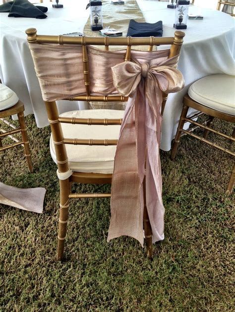 chiavari chair sash bow chair decor sash inspiration