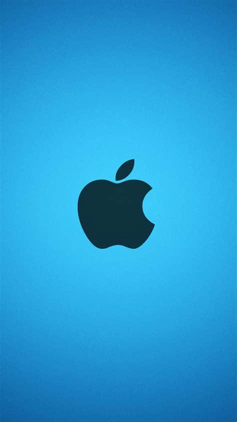 apple blue iphone wallpaper hd