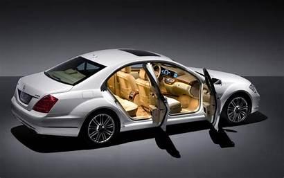 Mercedes Class Benz Interior Doors Open Side