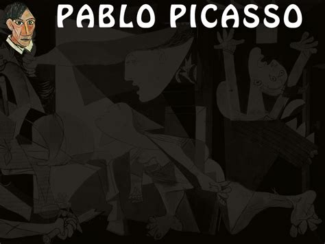 The Life Of Pablo Template by Famous People Pablo Picasso Powerpoint Template Adobe