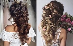 35 Wedding Updo Hairstyles for Long Hair from Ulyana Aster Deer Pearl Flowers