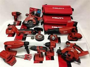 Hilti Akku Set : hilti 18v cordless 9 tool lithium ion combo kit set 4 batteries 3 bags new ebay ~ Frokenaadalensverden.com Haus und Dekorationen