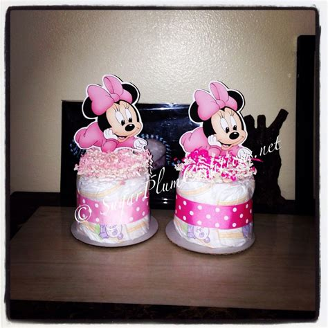 minnie mouse baby shower decorations baby minnie mouse cake mini baby shower centerpieces decorations ebay