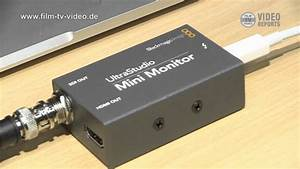 Blackmagic Design Monitor Recorder Ibc2012 Thunderbolt Videoperipherie Youtube