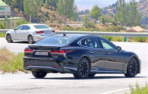 Spyshots 2019 Lexus Ls F Spotted, Could Pack Twinturbo