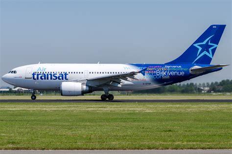 air transat airbus a310 304 by sliverfoxnl on deviantart