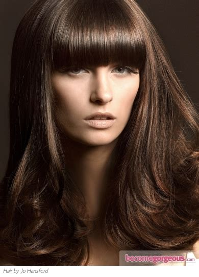 Hair Brown Color by Brown Hair Color Shades