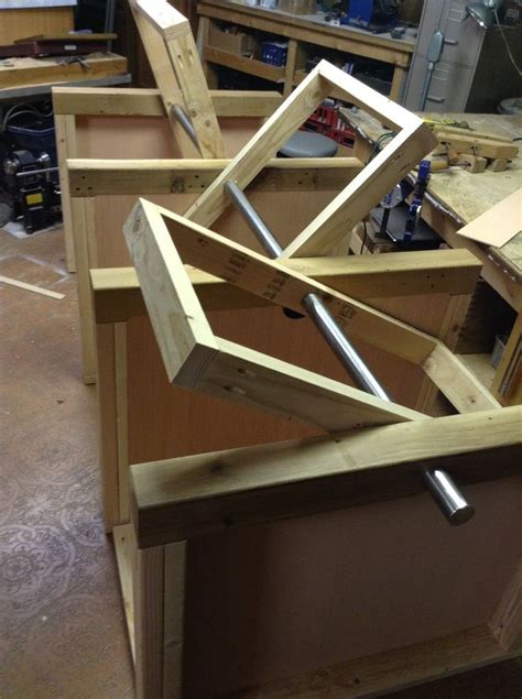 multi tool flip top table  steps  pictures