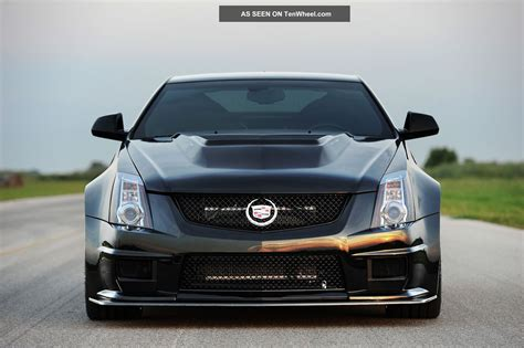 Cts V Hp by 2013 Cadillac Cts V Hennessey Vr1200 Turbo Coupe 1200