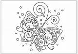 Butterfly Coloring Pages Printable Fun Spiral Drawings Drawing Any Buzzle Reproduce Resell Provided Personal Form Please Been sketch template