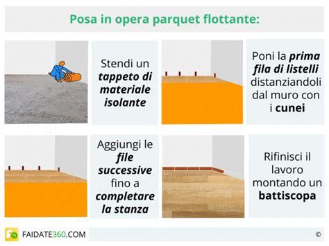 Mettere Il Parquet by Parquet Flottante Posa Trattamento Marmo Cucina