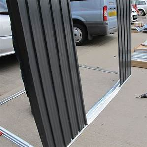 Buying a metal shed advice and fitting tuin tuindeco for Aluminum shed panels