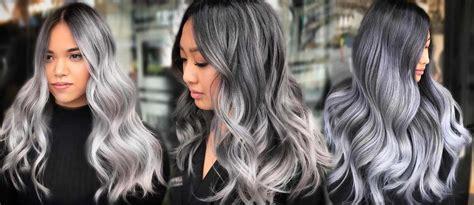 grey ombre hair  season lovehairstylescom