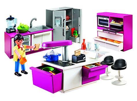 cuisine playmobile playmobil 5582 jeu de construction cuisine avec ilot
