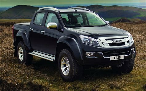 Isuzu D Max Modification by Isuzu Launches D Max At35 With The Help Of Arctic Trucks