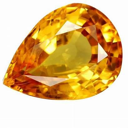 Topaz Stone Yellow Gemstone Gemstones Sapphire