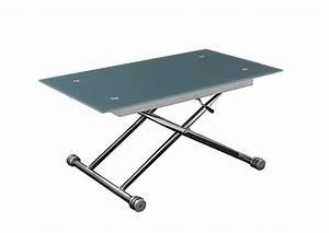 Table Basse Vente Unique : table extensible hauteur modulable ~ Nature-et-papiers.com Idées de Décoration